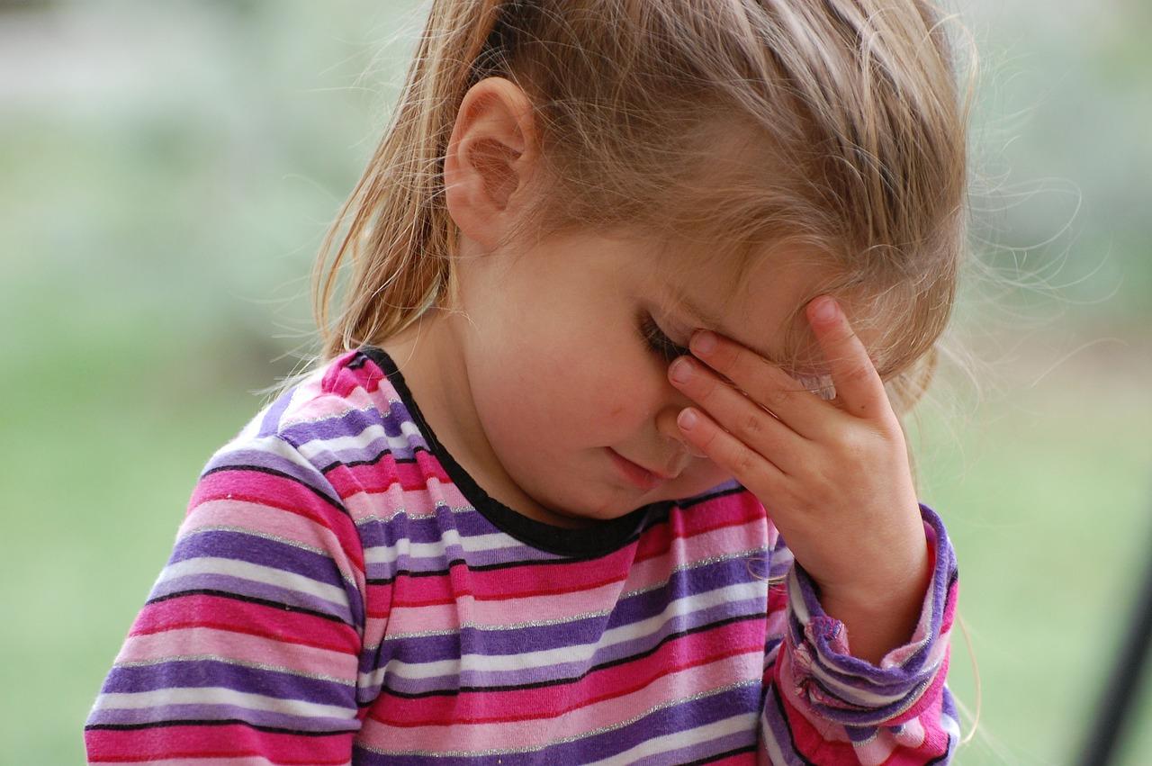 enfant qui souffre d'anxiété