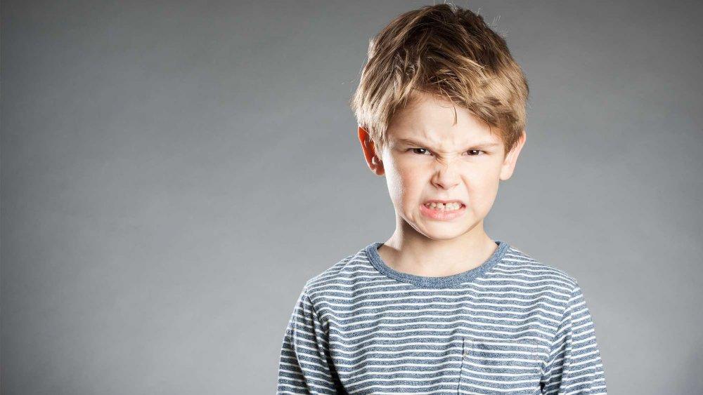 enfant opposant